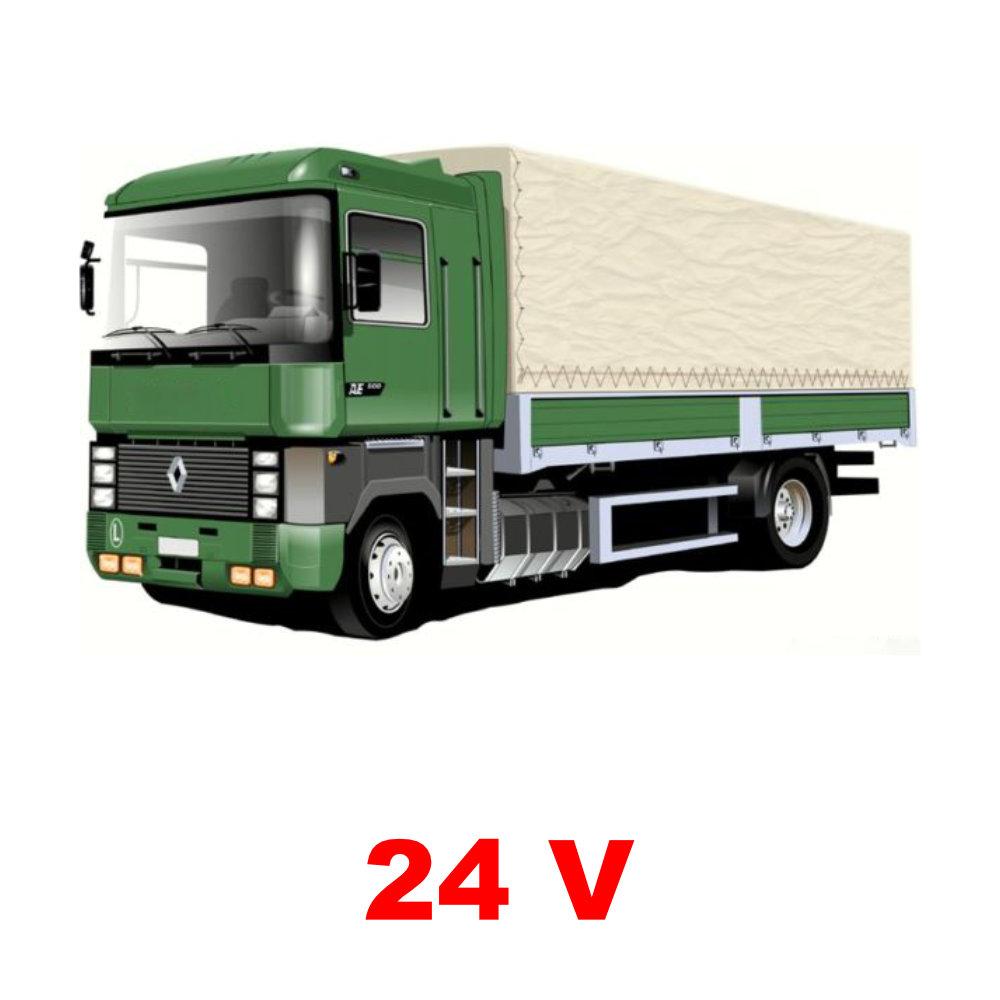 24 Voltos riasztók teherautókhoz