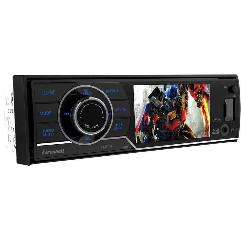 Farenheit DVD lejátszós USB-s autórádió képe