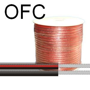 Átlátszó hangszóró kábel autóhifi beszereléshez