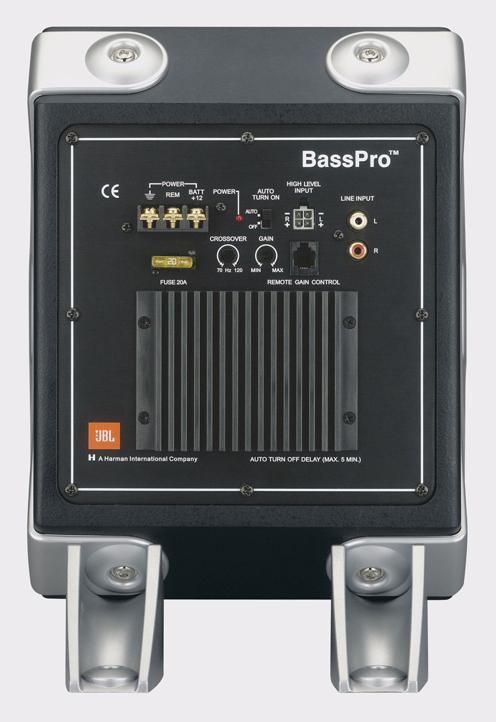 JBL BASSPRO II aktív mélyláda beépített erősítővel