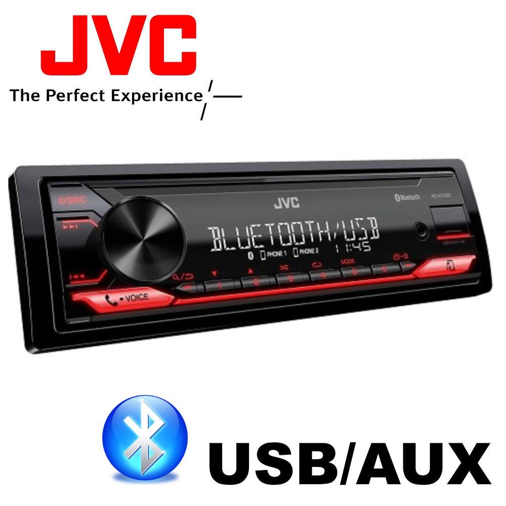 JVC KD-X272 BT Bluetoothos USB-s CD mechanika nélküli autórádió képe