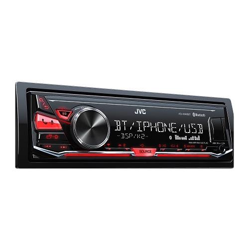 JVC KD-X342 BT Bluetoothos USB-s CD mechanika nélküli autórádió képe
