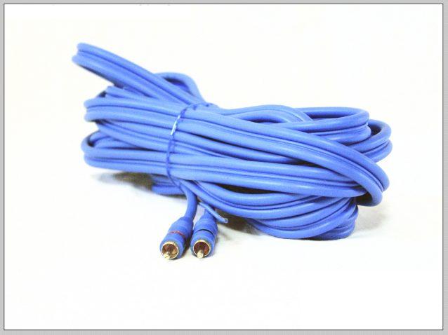 5m hosszú gyárilag szerelt RCA kábel