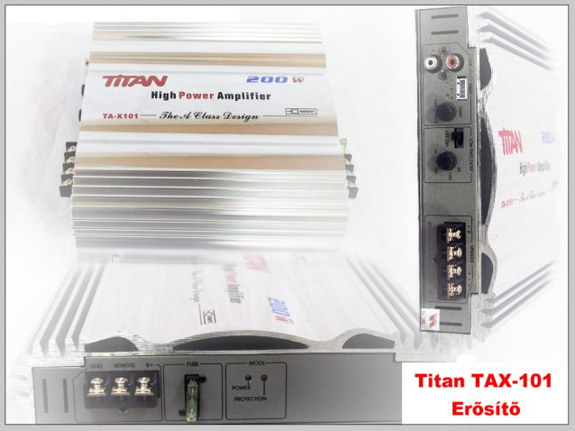 Titan TA-101 2 csatorn�s er�s�t� k�pe