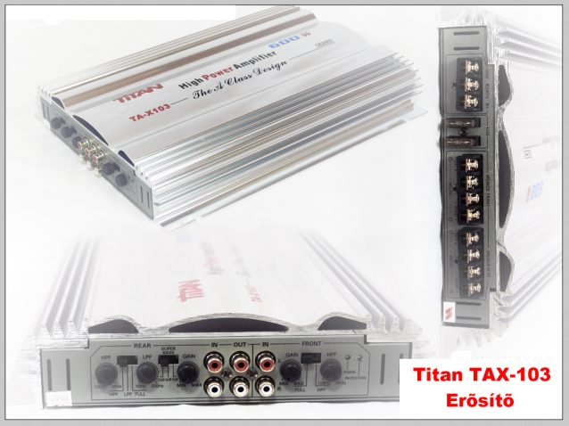 Titan TA-103 4 csatornás erősítő képe