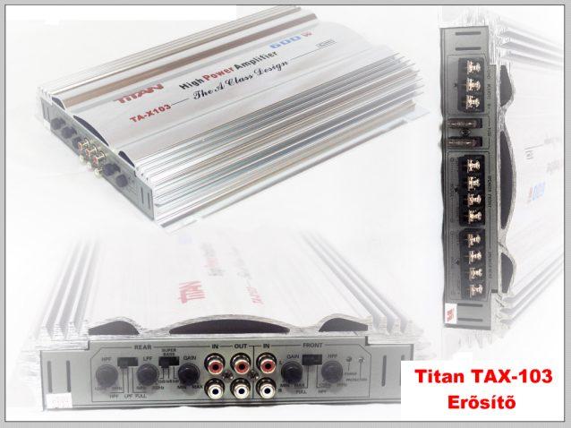 Titan TA-103 4 csatorn�s er�s�t� k�pe