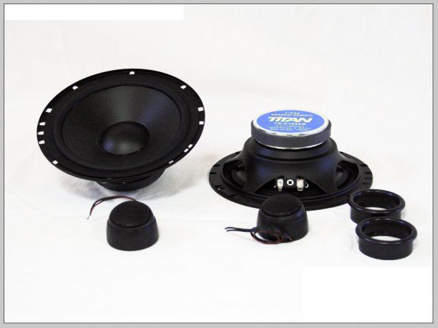 Titan 165mm hangszóró szett képe
