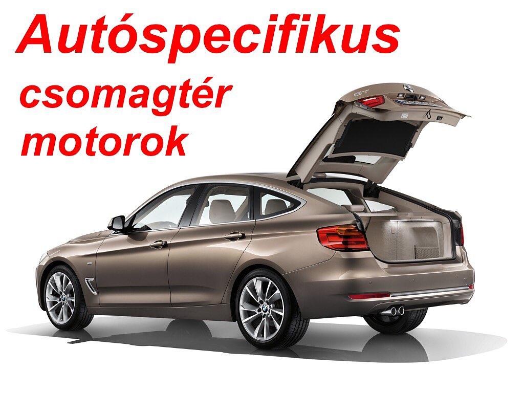 Autóspecifikus személyautó csomagtér motorok