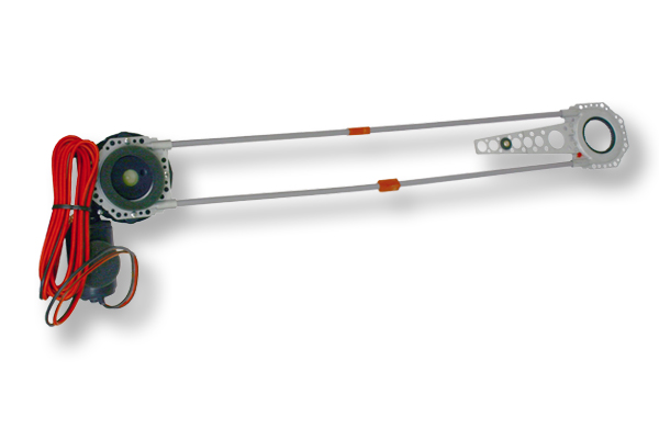 SPAL ablakemelõ motor és bowden képe!