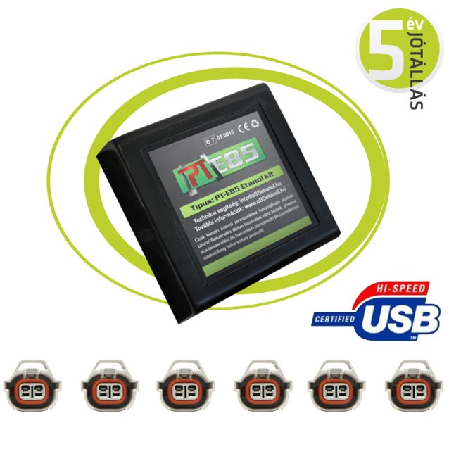 PT E85 DE LUXE USB ETANOL ÁTALAKÍTÓ!