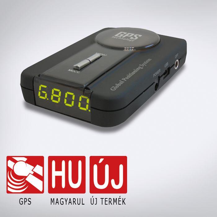 Kiyo GPS-800 GPS Detektor alapkészülék képe