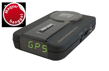 Kiyo GPS-800 gps detektor közelről!