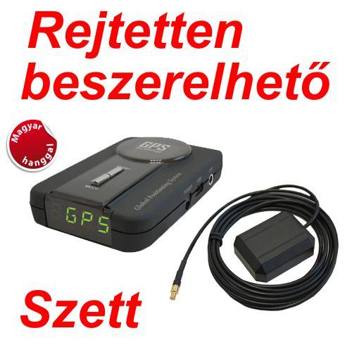 Kiyo GPS-800 GPS Detektor rejtetten beszerelhető szett képe