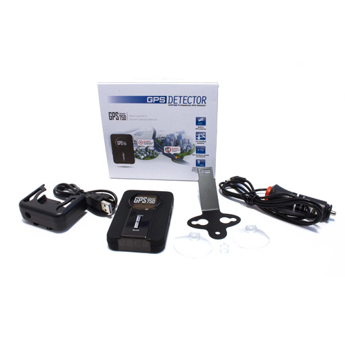 Kiyo GPS-800 GPS Detektor doboza és részei
