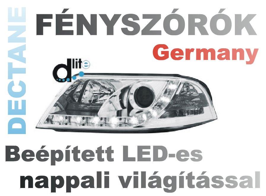 DECTANE, német gyárilag fényszóróba épített nappali világítások!
