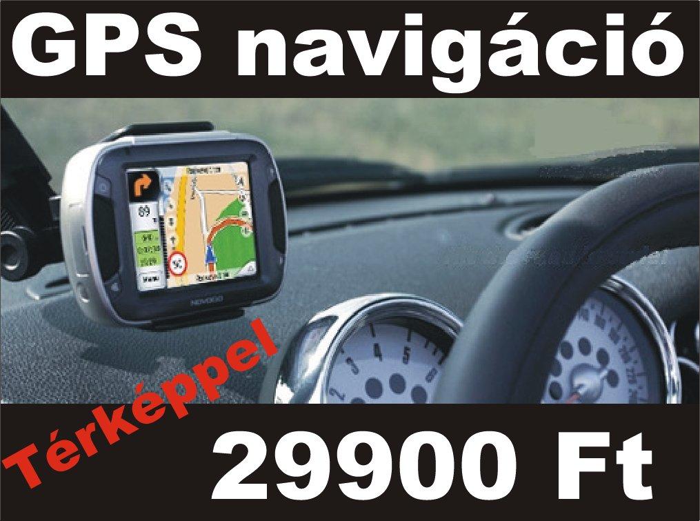PDA és PNA navigációs készülékek beépített GPS-el!