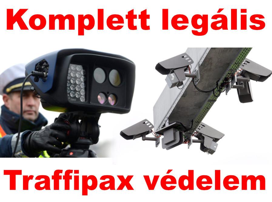Radardetektorok, Traffipax jelzők, Lézerblokkolók!