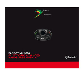 Parrot MKI-9000 bluetoothos kihangosító készlet képe!