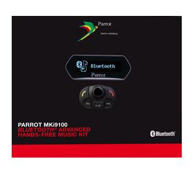 Parrot MKI-9100 bluetoothos kihangosító készlet képe!
