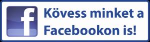 Kövess minket a Facebookon is!