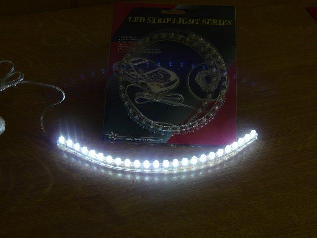 24 LEDES UNIVERZÁLIS LED-es dekor csík képei