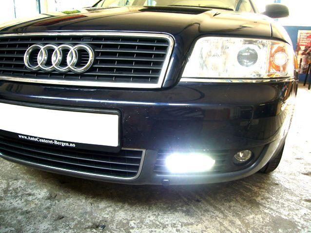 Audi A4 ledes nappali menetfény beszerelés!