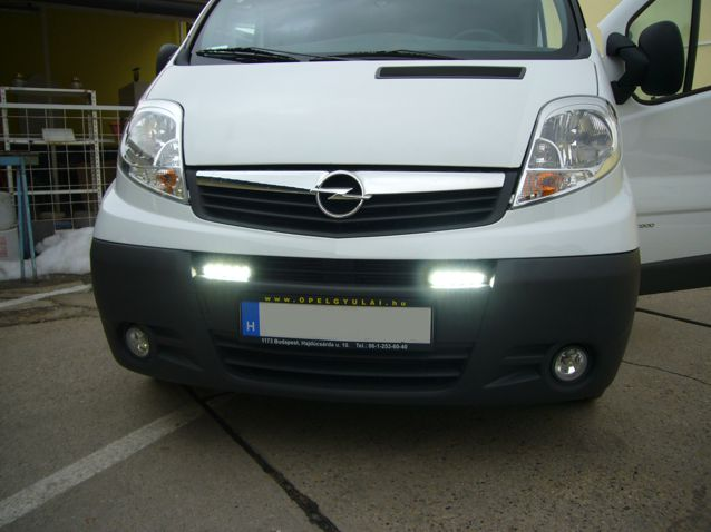 Opel Vivaro ledes nappali menetfény beszerelés!