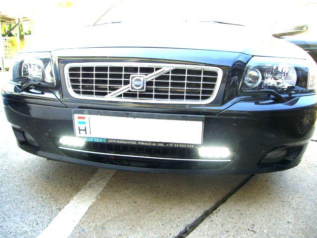 Volvo S80 ledes nappali menetfény beszerelés!
