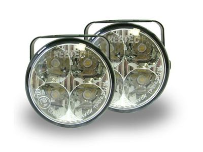 Univerzális kerek LED-es nappali menetfények és ködlámpák
