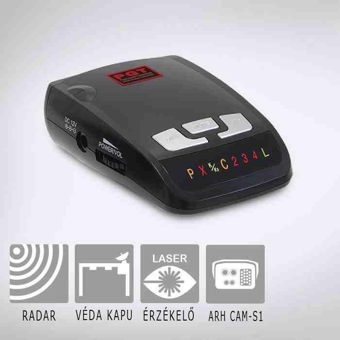 Radardetektorok lézer érzékeléssel