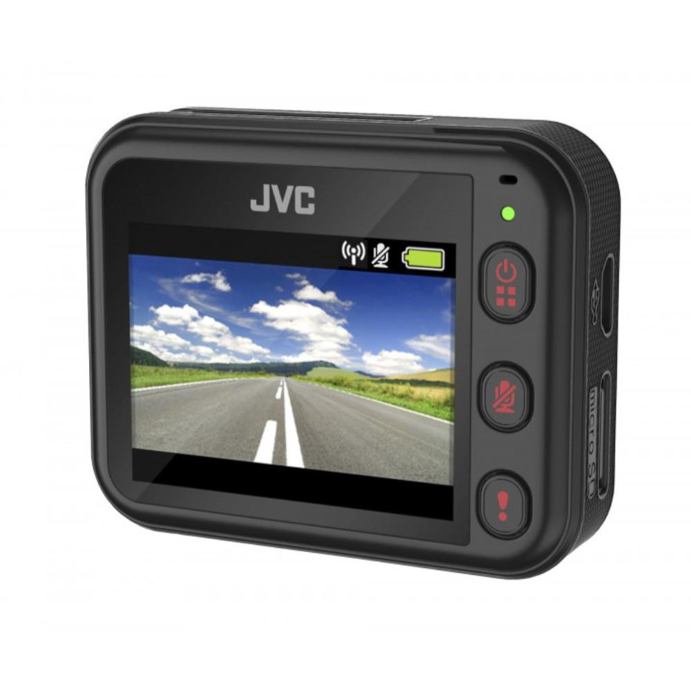 JVC GC-DRE10-S Full HD Wifis menetrögzítő kamera hátulról kijelzővel