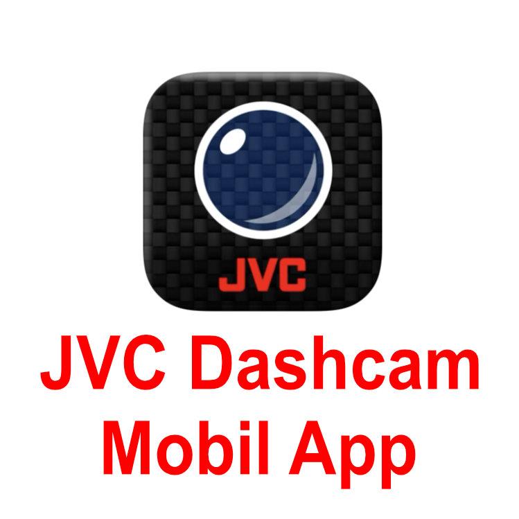JVC GC-DRE10-S Full HD Wifis menetrögzítő kamera JVC DASHCAM mobil applikációval