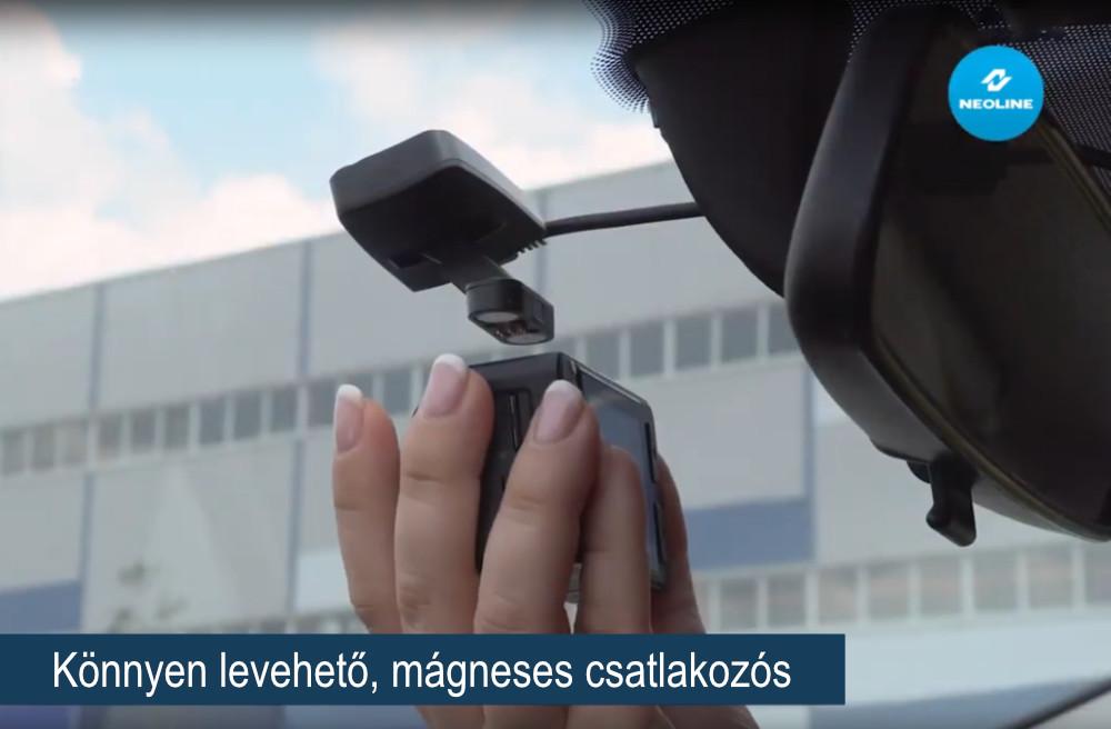 NEOLINE G-Tech X-76 Első - hátsó PREMIUM menetrögzítő kamera könnyen levehető mágneses tartóval