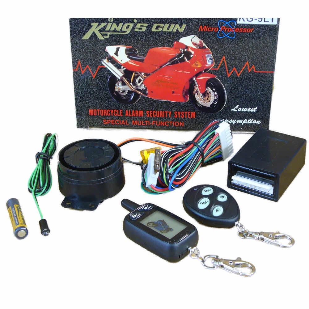 KG-9 Motorriasztó, LCD PAGERES kijelzővel, elektronikus DŐLÉS/EMELÉS érzékelővel, INDÍTÁSBLOKKOLÁSSAL!