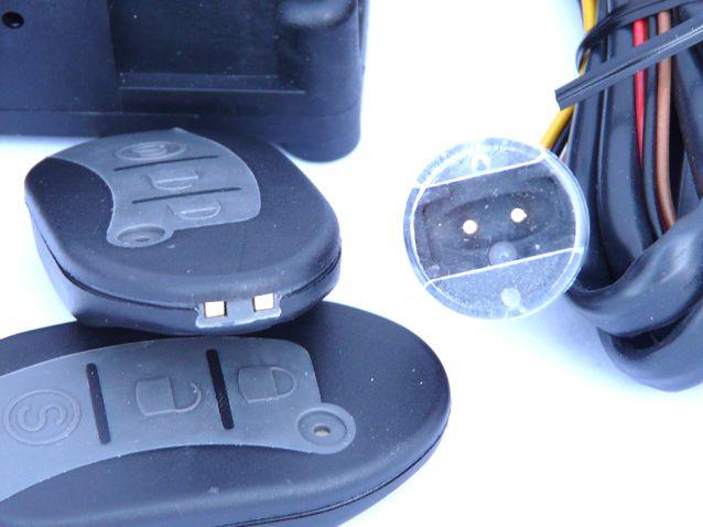 A GT-970 Motorriasztó készlet képe (Saját akkumulátoros szirénával)