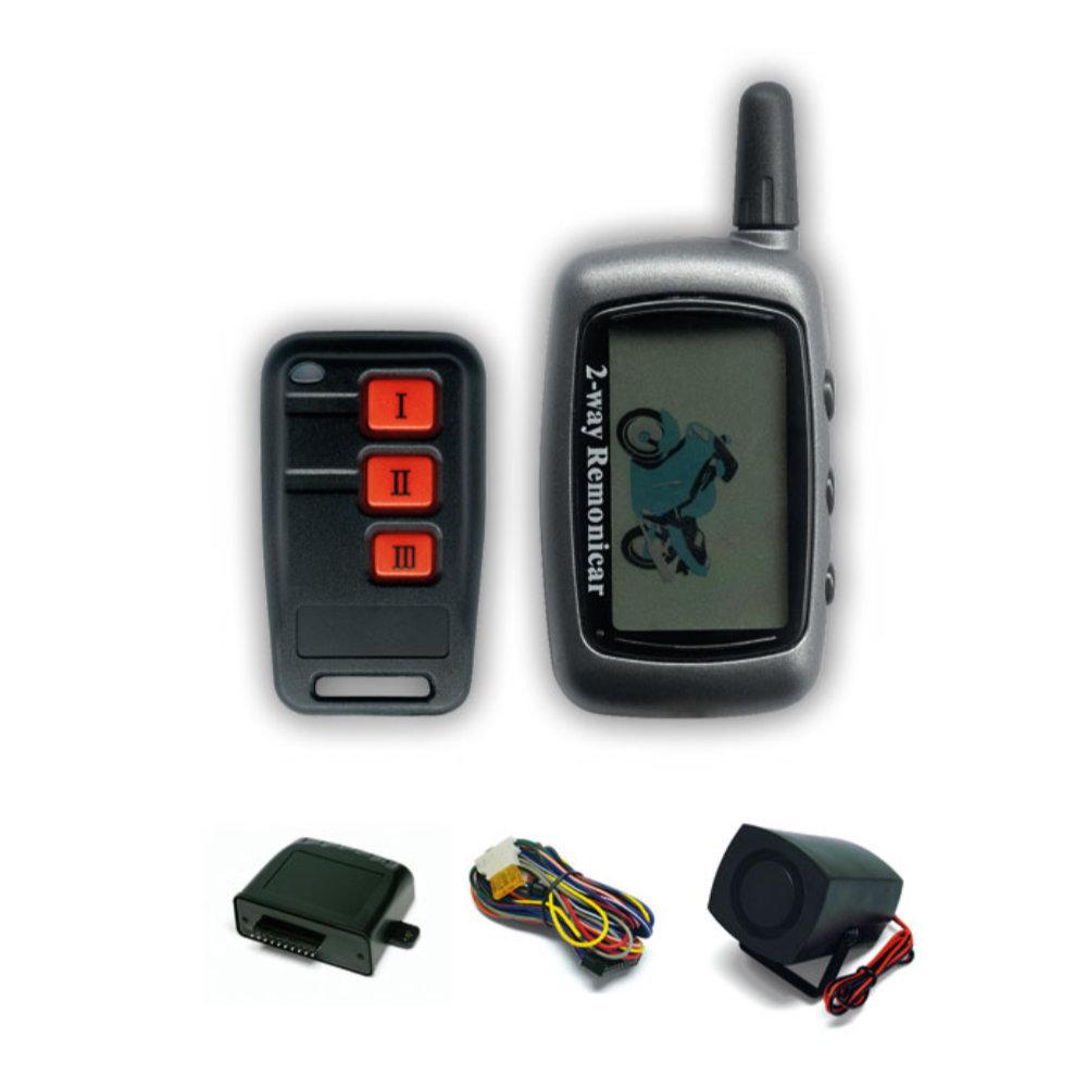 SENTINEL 1100 MOTO LCD PAGERES Motorriasztó készlet képe beépített elektronikus dõlés emelés érzékelõvel!