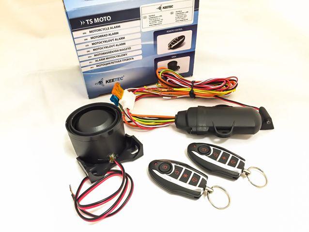 TS MOTO Motorriasztó dőlés/emelés érzékelővel!