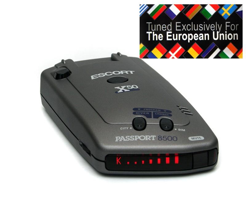 ESCORT PASSPORT 8500  EURO radardetektor, traffipax jelzõ képe (trafipax)