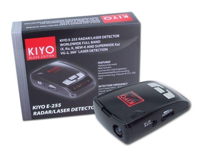 KIYO E-255 radardetektor, traffipax jelz� k�pe (trafipax)