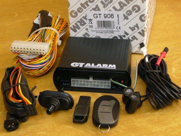 GT-906 CAN-BUS-os ULTRAHANGOS autóriasztó részletes leírása és képei
