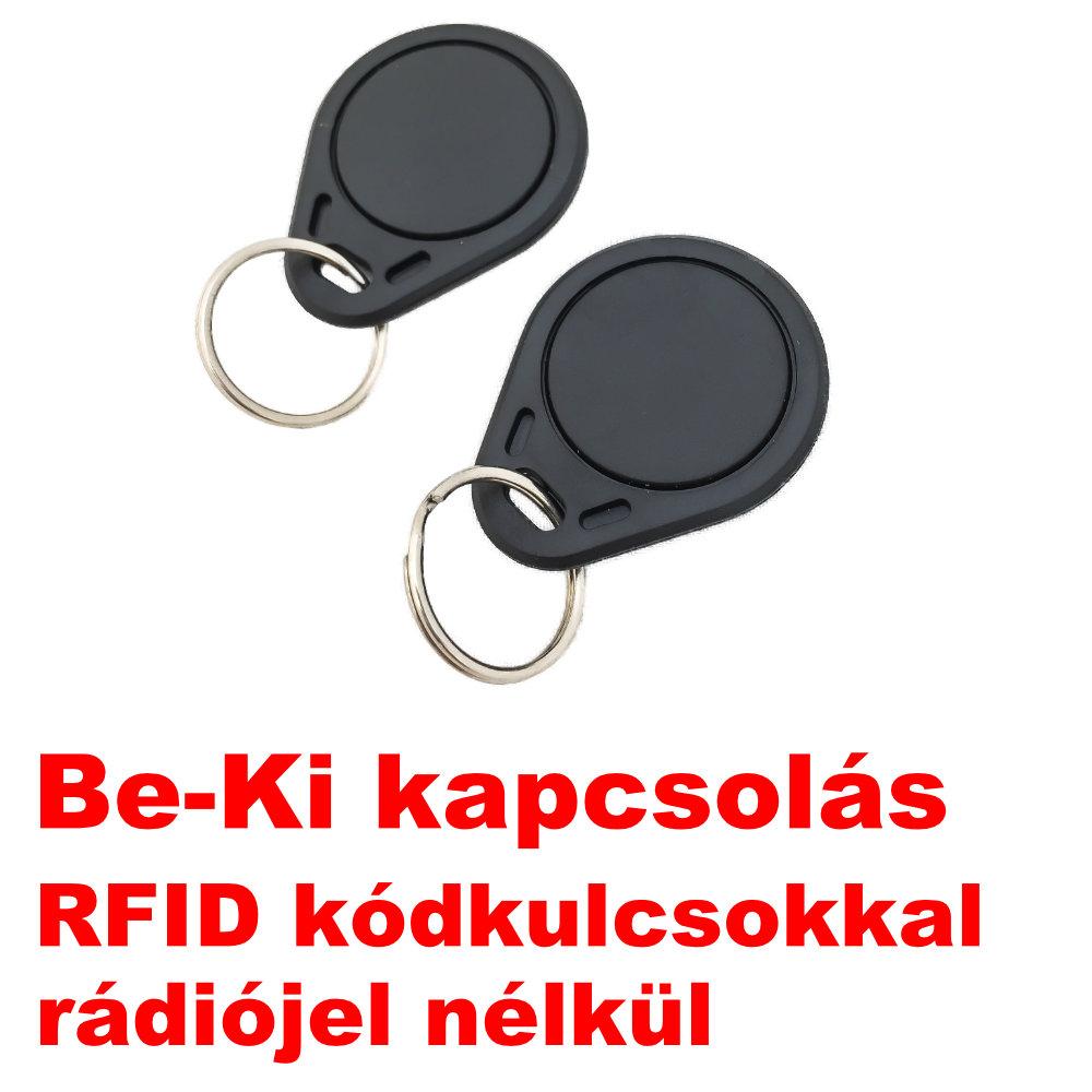 RFIDA-30 GSM Autóriasztó RFID kódkulcsok képe