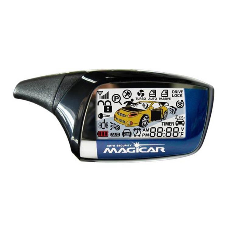 MAGICAR M-881 A LCD PAGERES autóriasztó pagerének a képe