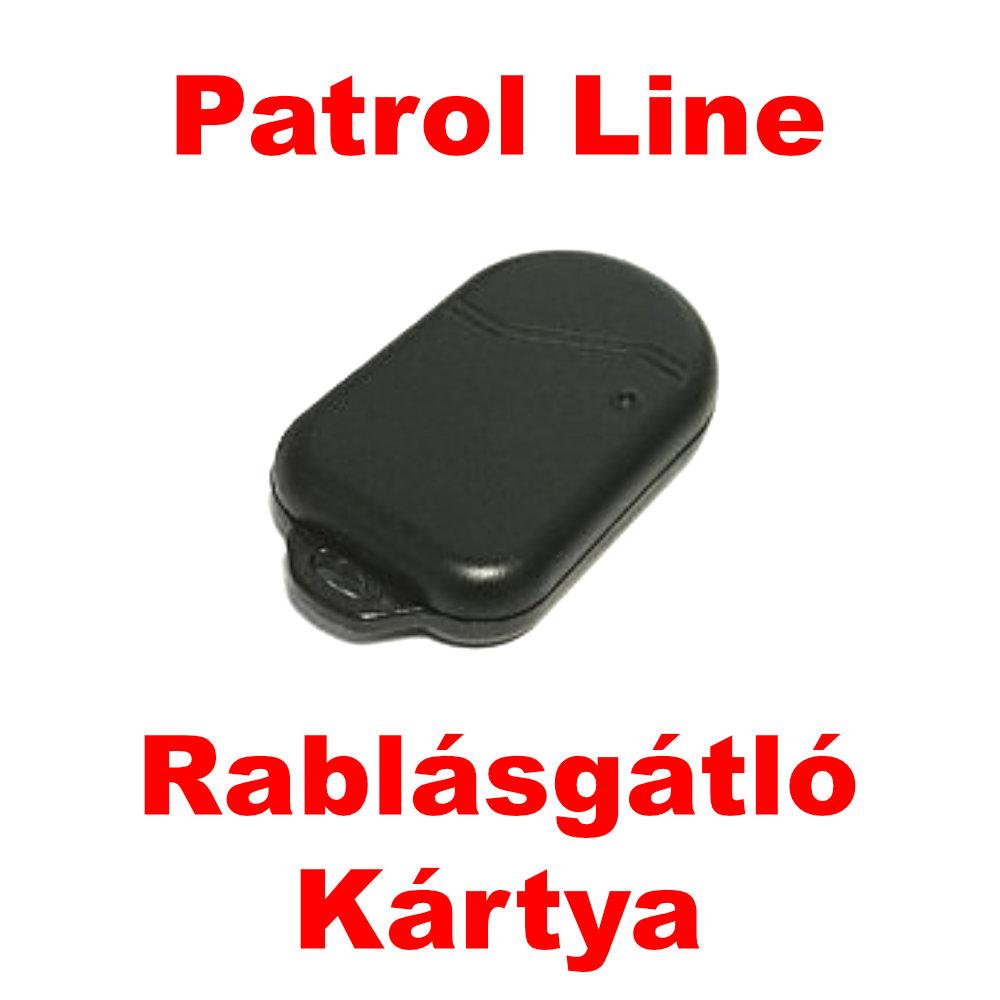 PATROL LINE HPS-845 CAN BUS rendszerû autóriasztó opcionális kártyájának a képe