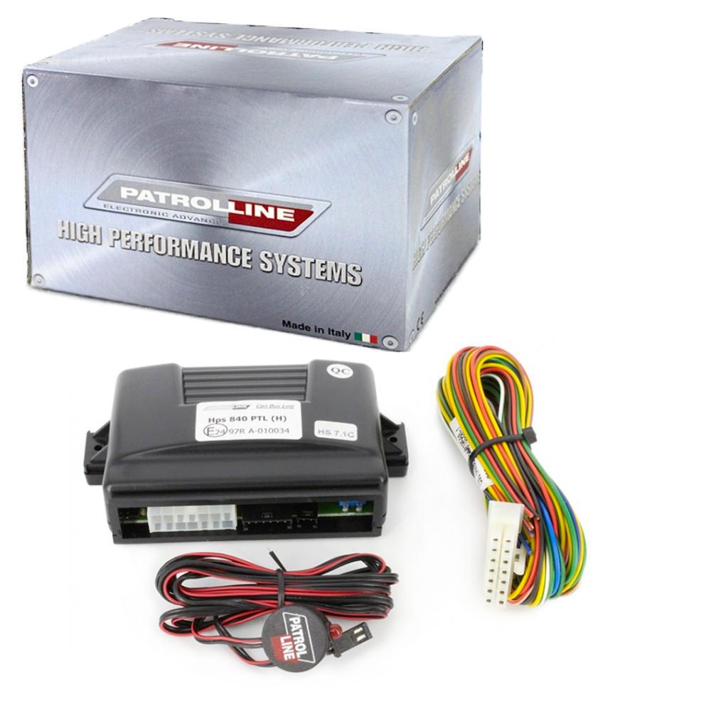 PATROL LINE HPS-840 CAN-BUS-os autóriasztó részletes leírása és képei