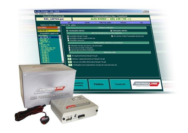 PATROL LINE HPS-845 CAN BUS rendszerû autóriasztó képe