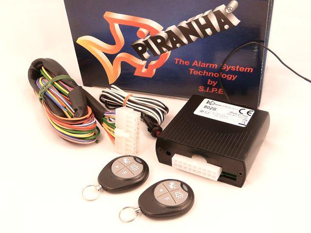 Piranha 802S távirányítós autóriasztó képe