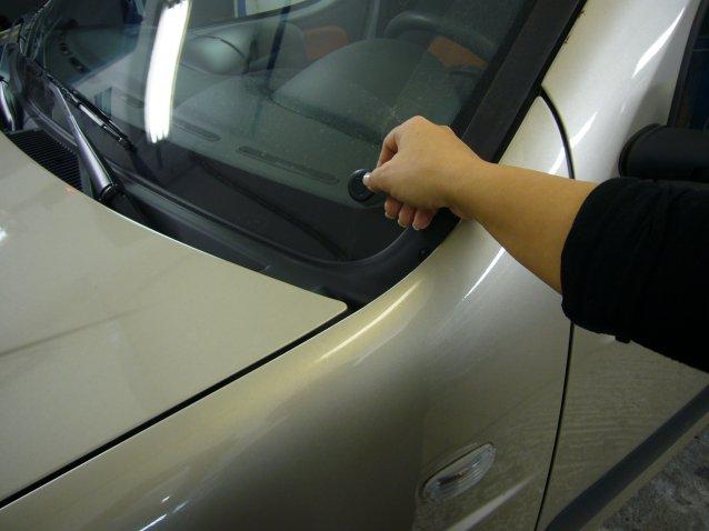 RFID Autóriasztó képe
