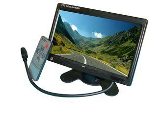 7 collos felszerelhető LCD Monitor képe