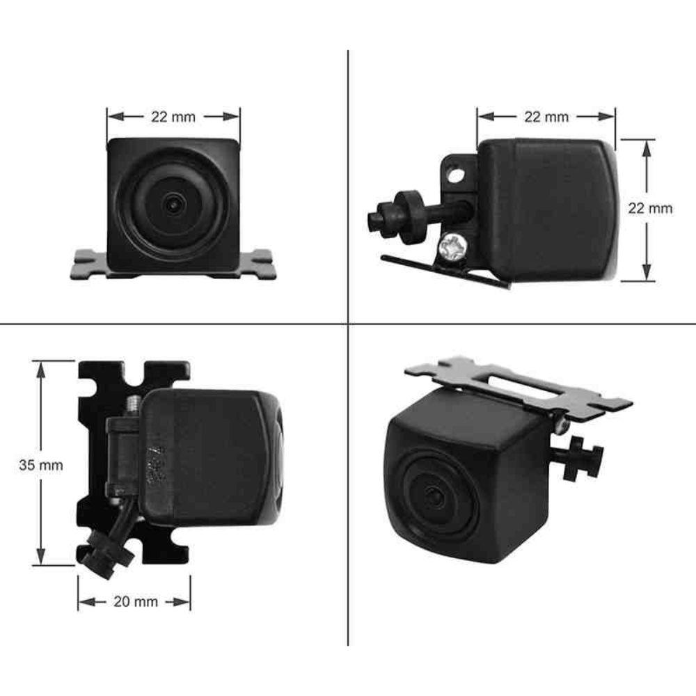 PT-KONZOLOS 170 fokos felszerelhető tolatókamera képe