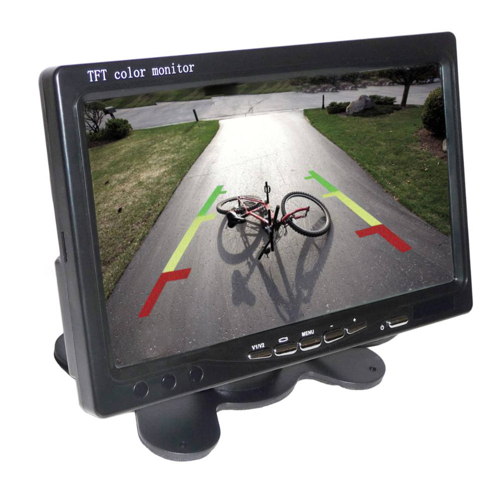 REDGUARD 7 collos felszerelhető LCD Monitor képe